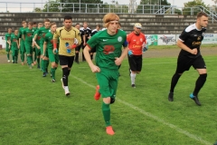 2017-09-15 Kreisoberliga Hoyerswerdaer FC I in grün -SV Post Germania Bautzen in schwarz 4:1Foto: Werner Müller