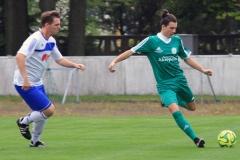 2017-09-15  Kreisliga  Hoyerswedaer FC II in grün  -  SG Crostwitz II in blau weiß  5:2 Foto: Werner Müller