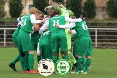 2017-11-12 Kreisoberliga DJK Sokol Ralbitz in schwarz - Hoyerswerdaer FC in grün 1:1 Foto: Werner Müller