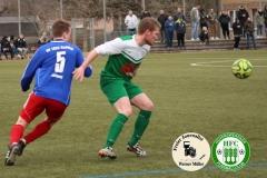 2018-03-23  KOL  Hoyerswerdaer FC in grün-weiß   -  SV 1922 Radibor in blau  2:3  (2:1)  Foto: Werner Müller