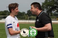 2018-06-10  A- junioren Hoyerswerdaer FC in weiß  - SpVgg. Dresden-Löbtau in schwarz   6:0  Foto: Werner Müller