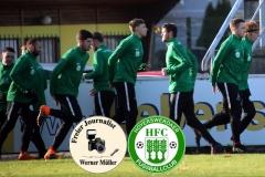 2018-11-17  Kreisliga  Hoyerserdaer FC II in grün    - SV Haselbachtal in schwarz 3:1  Foto: Werner Müller