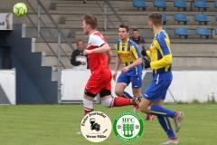2019-05-04  Hoyerswerdaer FC I in rot  -  SV Burkau in blau -gelb  2:1  Foto: Werner Müller