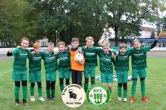 2020-10-17 Nachwuchsturniere E+F beim Hoyerswerdaer FC Siegewreehrung  Foto: Werner Müller
