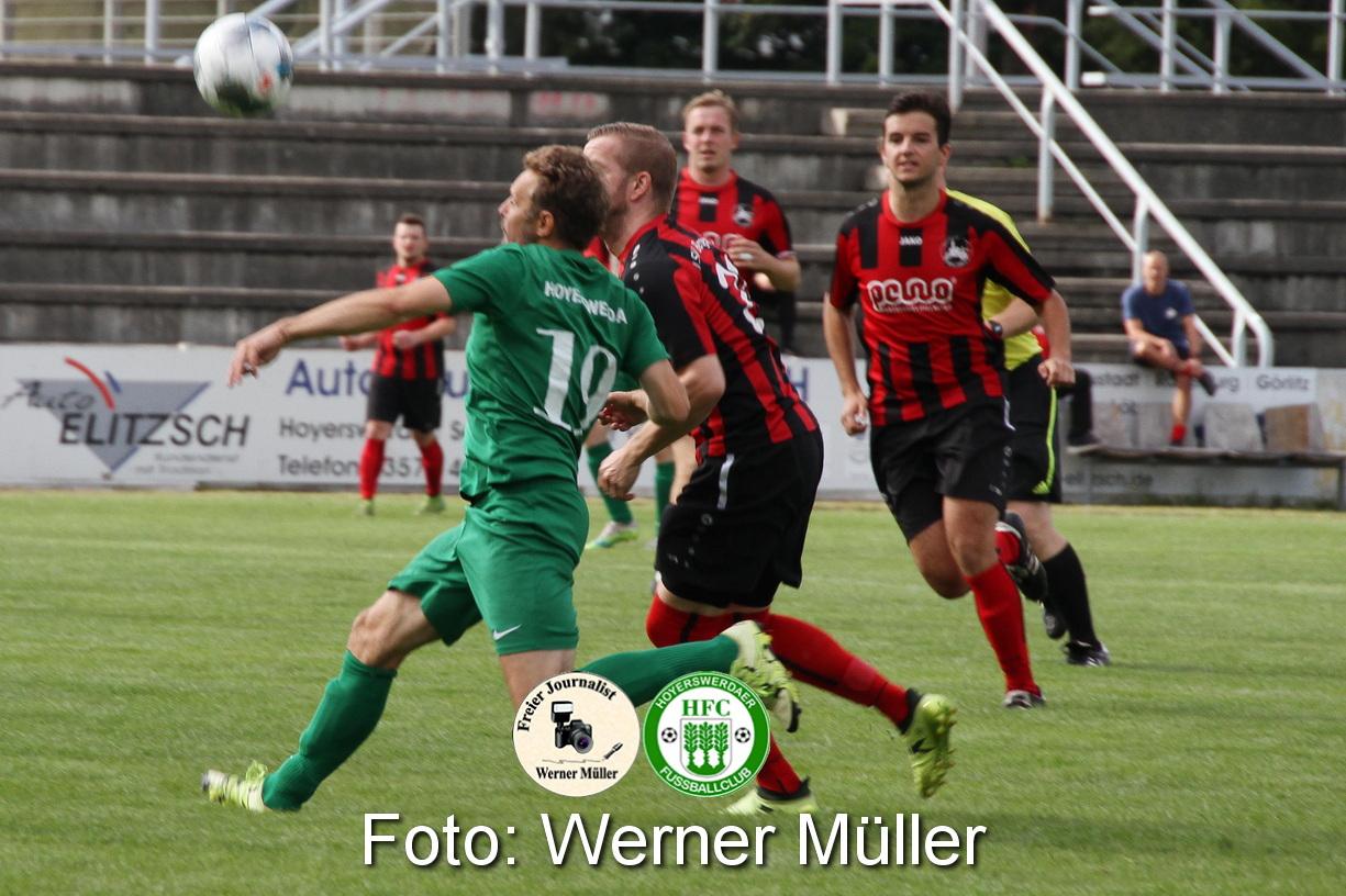 2021-08-28 Hoyerswerdaer FC - LSV Bergen Foto: Werner Müller