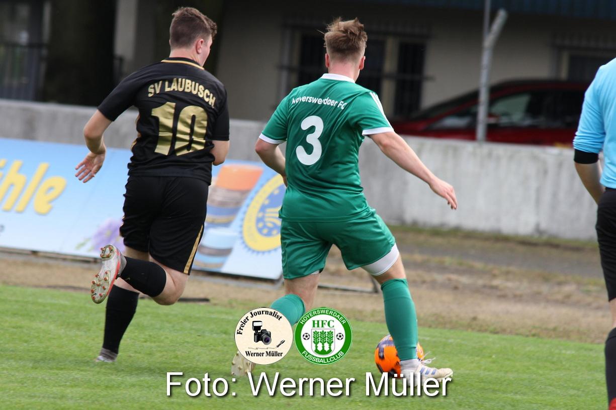 2021-08-28  Hoyerswerdaer FC II  - SV Laubusch Foto: Werner Müller