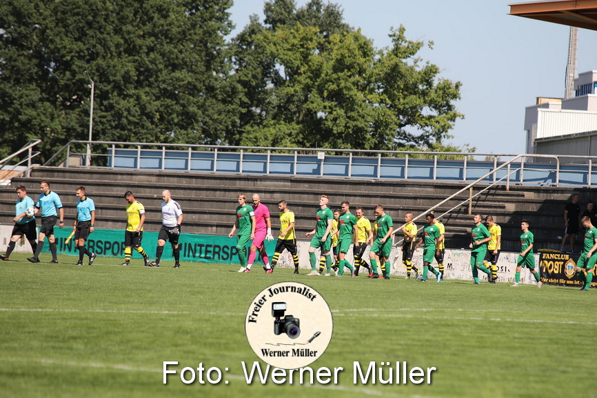 2021-08-14 Hoyerswerdaer FC - SV Post Germania Bautzen