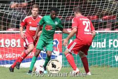 2021-07-24 SG Crostwitz - Hoyerswerdaer FC Foto: Werner Müller