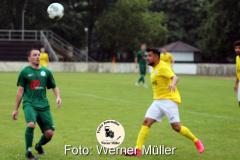 2021-07-17 Testspiel Hoyerswerdaer FC - NFV Gelb-Weiß Görlitz 09 Foto: Werner Müller