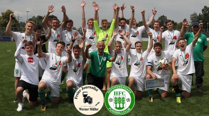 Erster Titel der Geschichte des Hoyerswerdaer FC