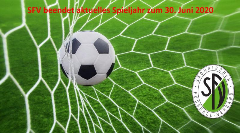 SFV beendet aktuelles Spieljahr zum 30. Juni 2020